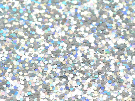 China holographic glitter powder factory silver