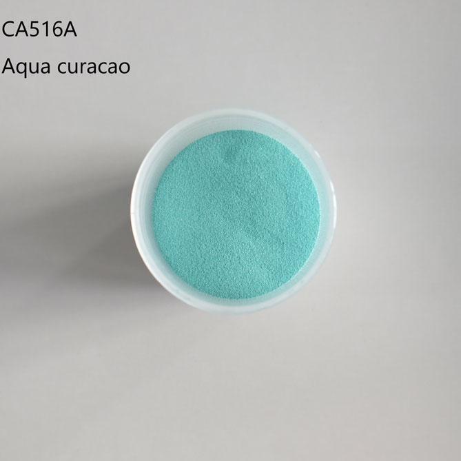 aqua curacao embossing powder China supplier