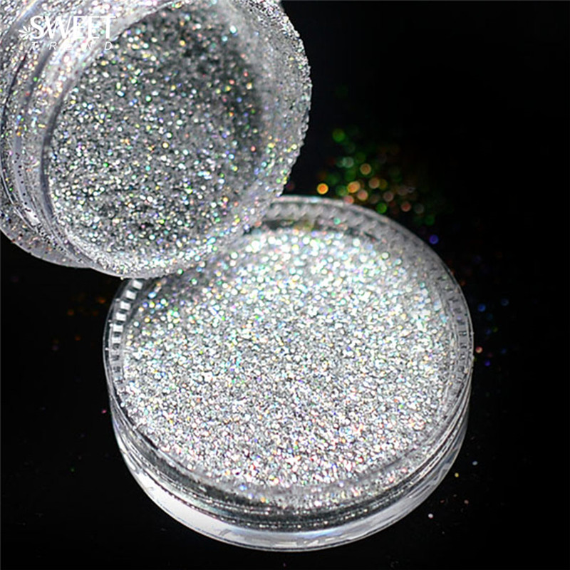 manufacture in China holographic glitter powder for DIY