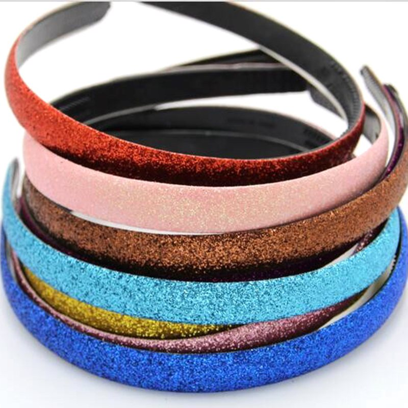 made in china glitter powder supplier for hair band